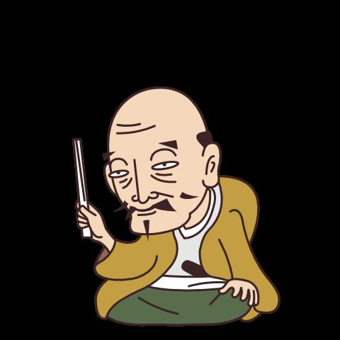 斎藤道三のイラスト