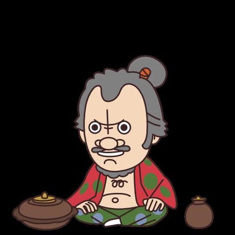 松永久秀のイラスト