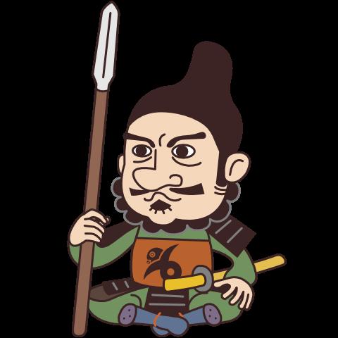 柴田勝家のイラスト