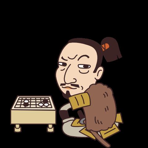 真田昌幸のイラスト
